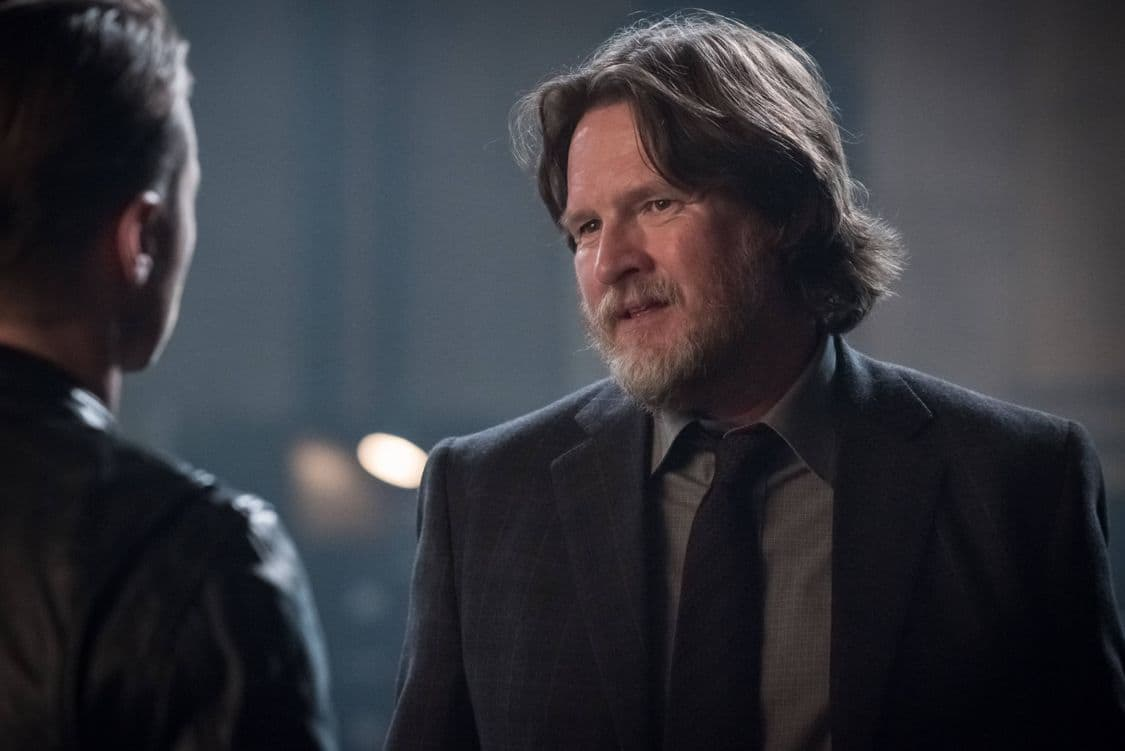 """GOTHAM: Donal Logue in the """"Mad City: Better to Reign in Hell…"""" season premiere episode of GOTHAM airing airing Monday, Sept. 19 (8:00-9:01 PM ET/PT) on FOX. ©2015 Fox Broadcasting Co. Cr: Jeff Neumann/FOX."""