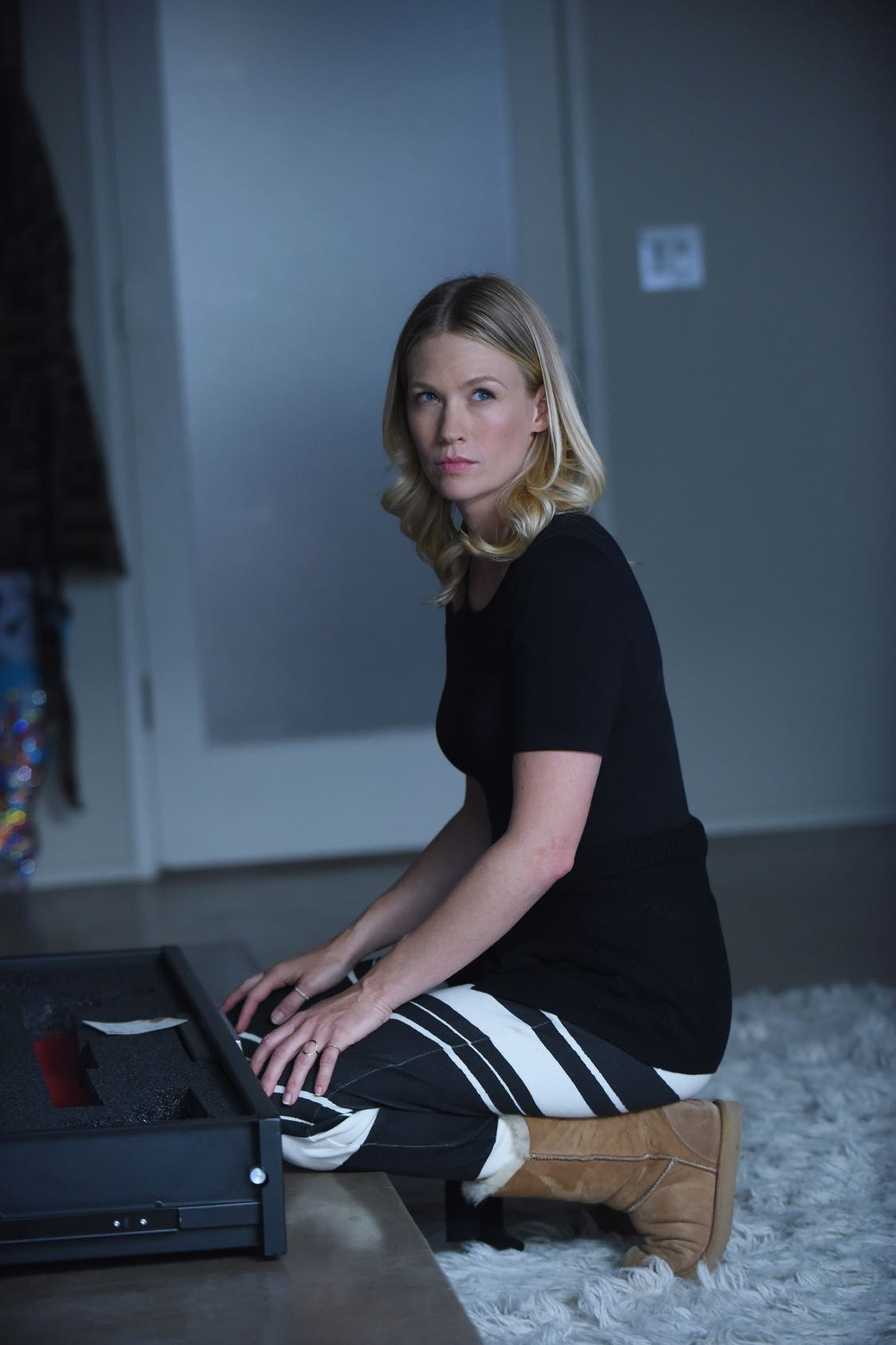 THE LAST MAN ON EARTH:  January Jones in THE LAST MAN ON EARTH premiering Sunday, Sept. 25 (9:30-10:00 PM ET/PT) on FOX. ©2015 Fox Broadcasting Co. Cr:  Ray Mickshaw/FOX