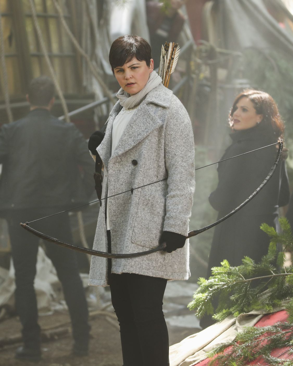 """ONCE UPON A TIME - """"The Savior"""" - As """"Once Upon a Time"""" returns to ABC for its sixth season, SUNDAY, SEPTEMBER 25 (8:00-9:00 p.m. EDT), on the ABC Television Network, so does its classic villain-the Evil Queen. (ABC/Jack Rowand) GINNIFER GOODWIN"""
