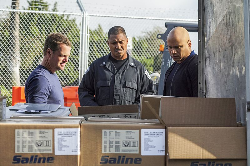 """High-Value Target"" and ""Belly of the Beast"" -- Pictured: Chris O'Donnell (Special Agent G. Callen) and LL COOL J (Special Agent Sam Hanna). After NCIS fails to locate a mole in the department, Under Secretary of Defense Corbin Duggan (Jackson Hurst) insists on new leadership and takes over the Los Angeles unit from Hetty and Granger. Also, the team travels to Syria to apprehend a High Value Target where one team member is severely injured when the mission goes awry, on the special two hour eighth season premiere of NCIS: LOS ANGELES, Sunday, Sept. 25 (8:30-10:30 PM, ET/8:00-10:00 PM, PT), on the CBS Television Network. Photo: Monty Brinton/CBS ©2016 CBS Broadcasting, Inc. All Rights Reserved."