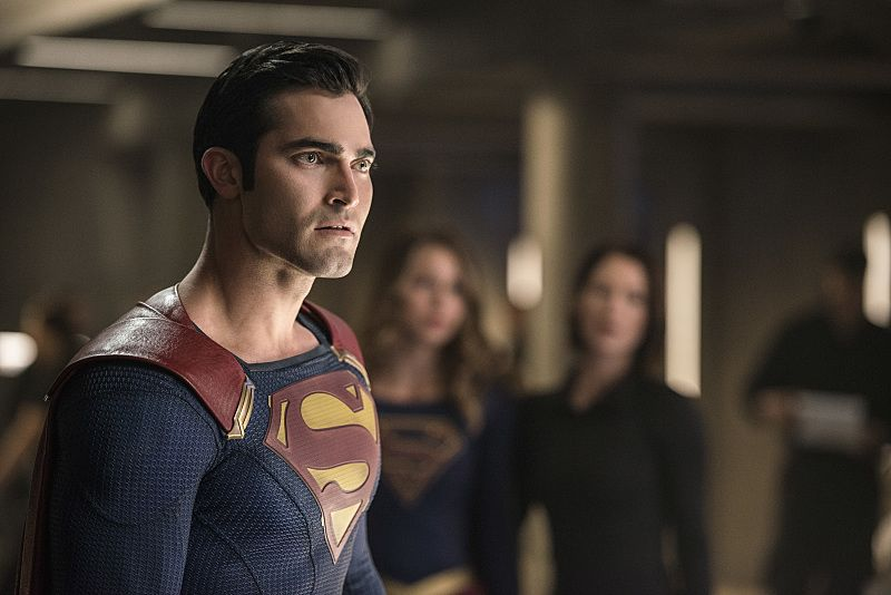 """Supergirl -- """"The Last Children of Krypton"""" -- Image SPG202b_0087 -- Pictured: Tyler Hoechlin as Clark/Superman -- Photo: Diyah Pera/The CW -- © 2016 The CW Network, LLC. All Rights Reserved"""