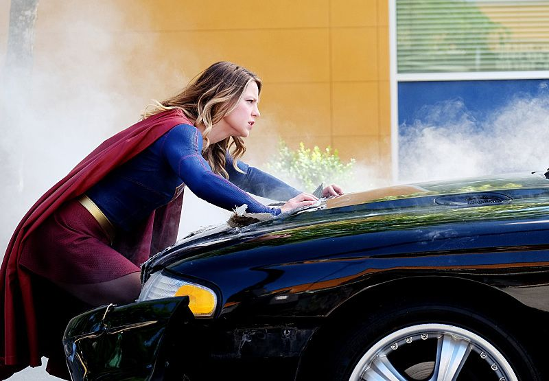 """Supergirl -- """"The Last Children of Krypton"""" -- Pictured: Melissa Benoist as Supergirl -- Photo Credit: Robert Falconer/The CW -- © 2016 The CW Network, LLC. All Rights Reserved"""