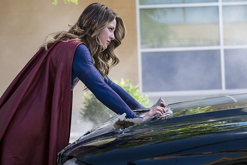 """Supergirl -- """"The Last Children of Krypton"""" -- Image SPG202a_0035 -- Pictured: Melissa Benoist Kara/Supergirl -- Photo: Robert Falconer/The CW -- © 2016 The CW Network, LLC. All Rights Reserved"""