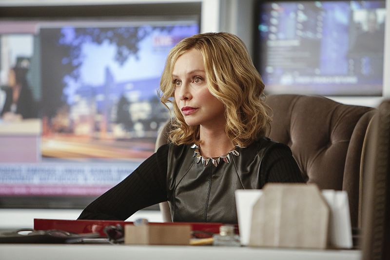 "Supergirl -- ""The Adventures Of Supergirl"" -- Image SPG201b_0297 -- Pictured: Calista Flockhart as Cat -- Photo: Bettina Strauss/The CW -- © 2016 The CW Network, LLC. All Rights Reserved"