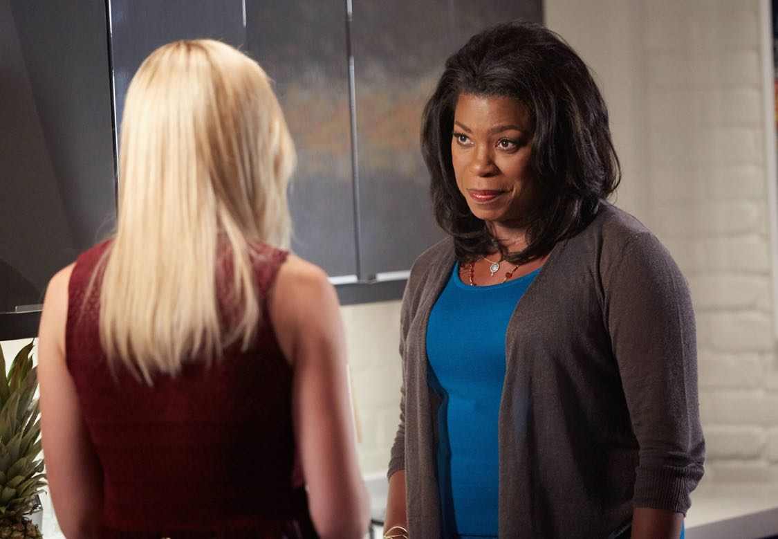 """ROSEWOOD: Pictured L_R: Anna Konkle and Lorraine Toussaint in the """"Forward Motion & Frat Li"""" episode of ROSEWOOD premiering Thursday, Sept. 22 (8:00-9:00 PM ET/PT) on FOX. ©2016 Fox Broadcasting Co. CR: Tyler Golden/FOX"""