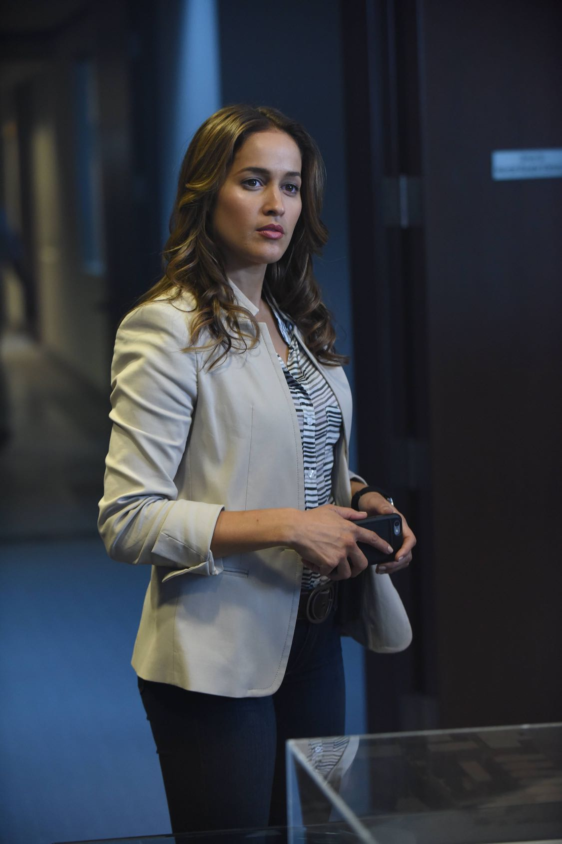 "ROSEWOOD: Jaina Lee Ortiz in the ""Forward Motion & Frat Li"" episode of ROSEWOOD premiering Thursday, Sept. 22 (8:00-9:00 PM ET/PT) on FOX. ©2016 Fox Broadcasting Co. CR: Ray Mickshaw/FOX"