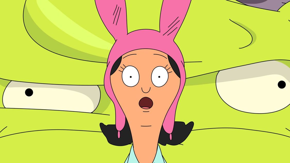 "BOB'S BURGERS: Sick in bed with the flu, Louise spirals into a crazy fever dream in the ""Flu-ouise"" episode of BOB'S BURGERS airing Sunday, September 25 (7:30-8:00 PM ET/PT) on FOX. BOB'S BURGERS ™ and © 2016 TCFFC ALL RIGHTS RESERVED. CR: FOX"