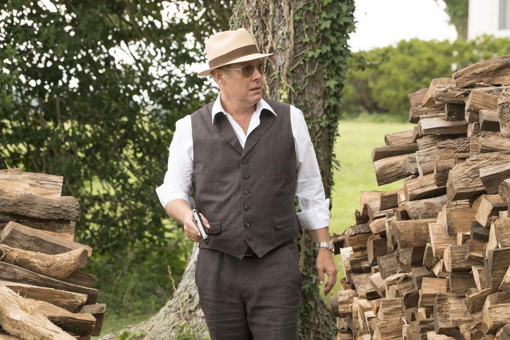 "THE BLACKLIST -- ""Esteban #79"" Episode 401 -- Pictured: James Spader as Raymond ""Red"" Reddington -- (Photo by: Virginia Sherwood/NBC)"