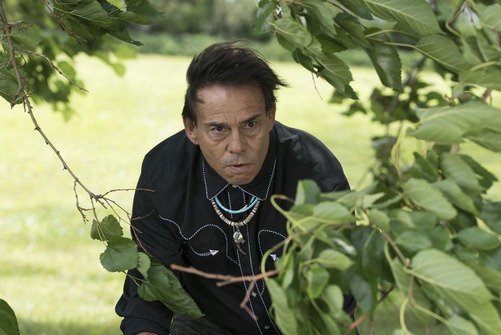 "THE BLACKLIST -- ""Esteban #79"" Episode 401 -- Pictured: Raoul Trujillo as Mato -- (Photo by: Virginia Sherwood/NBC)"