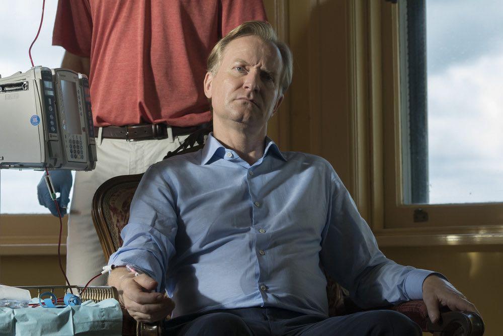 "THE BLACKLIST -- ""Esteban #79"" Episode 401 -- Pictured: Ulrich Thomsen as Alexander Kirk -- (Photo by: Virginia Sherwood/NBC)"