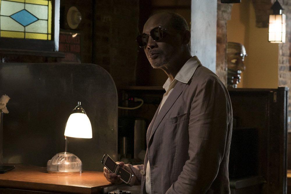 "THE BLACKLIST -- ""Esteban #79"" Episode 401 -- Pictured: Paul Calderon as Esteban -- (Photo by: Virginia Sherwood/NBC)"