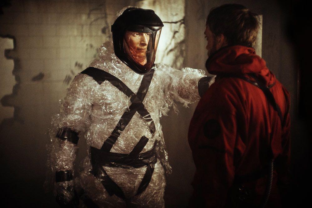 "Z NATION -- ""No Mercy"" Episode 301-302 -- Pictured: Joseph Gatt as The Man -- (Photo by: Daniel Sawyer Schaefer/Go2 Z/Syfy)"