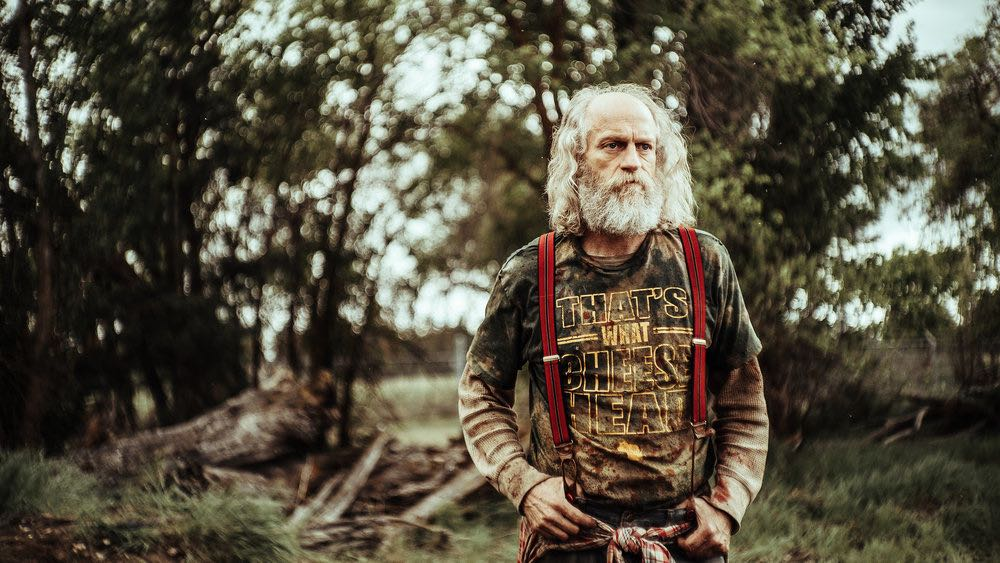 """Z NATION -- """"No Mercy"""" Episode 301-302 -- Pictured: Russell Hodgkinson as Doc -- (Photo by: Daniel Sawyer Schaefer/Go2 Z/Syfy)"""