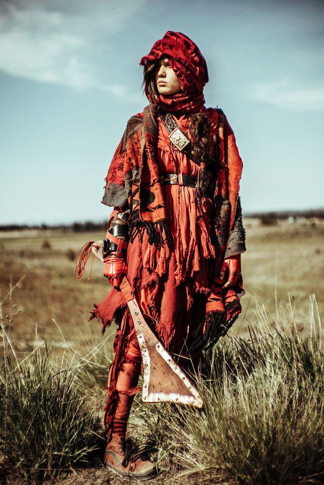 "Z NATION -- ""No Mercy"" Episode 301-302 -- Pictured: Natalie Taye as Red -- (Photo by: Daniel Sawyer Schaefer/Go2 Z/Syfy)"