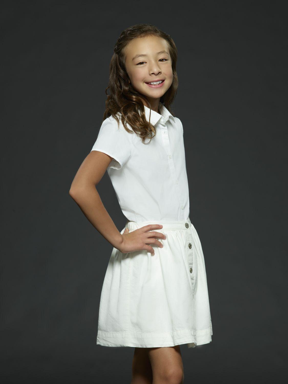 "MODERN FAMILY - ABC's ""Modern Family"" stars Aubrey Anderson-Emmons as Lily Tucker-Pritchett. (ABC/Bob D'Amico)"
