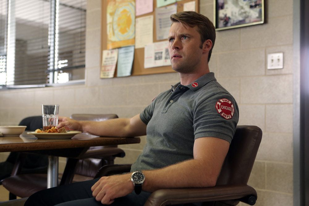 """CHICAGO FIRE -- """"The Hose or The Animal"""" Episode 501 -- Pictured: Jesse Spencer as Matthew Casey -- (Photo by: Parrish Lewis/NBC)"""
