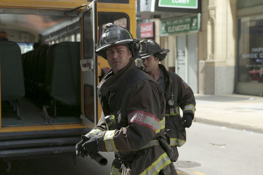 """CHICAGO FIRE -- """"The Hose or The Animal"""" Episode 501 -- Pictured: Taylor Kinney as Kelly Severide -- (Photo by: Parrish Lewis/NBC)"""