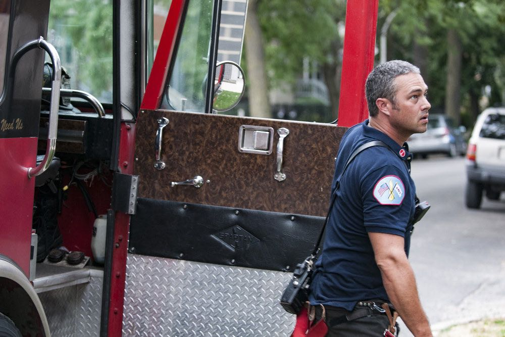 """CHICAGO FIRE -- """"The Hose or The Animal"""" Episode 501 -- Pictured: Taylor Kinney as Kelly Severide -- (Photo by: Matt Dinerstein/NBC)"""