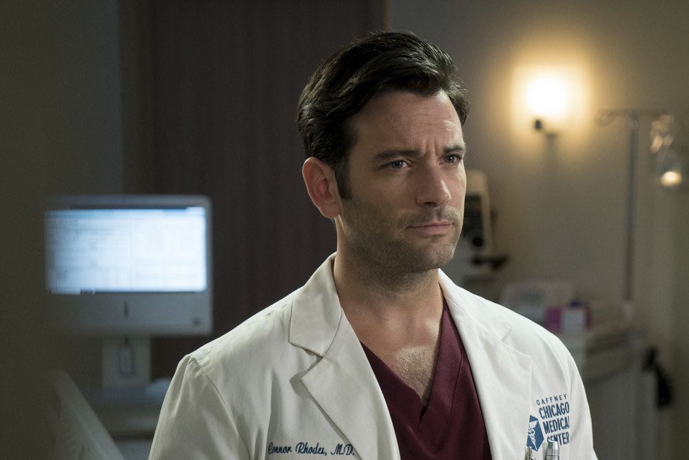 """CHICAGO MED -- """"Soul Care"""" Episode 201 -- Pictured: Colin Donnell as Connor Rhodes -- (Photo by: Elizabeth Sisson/NBC)"""