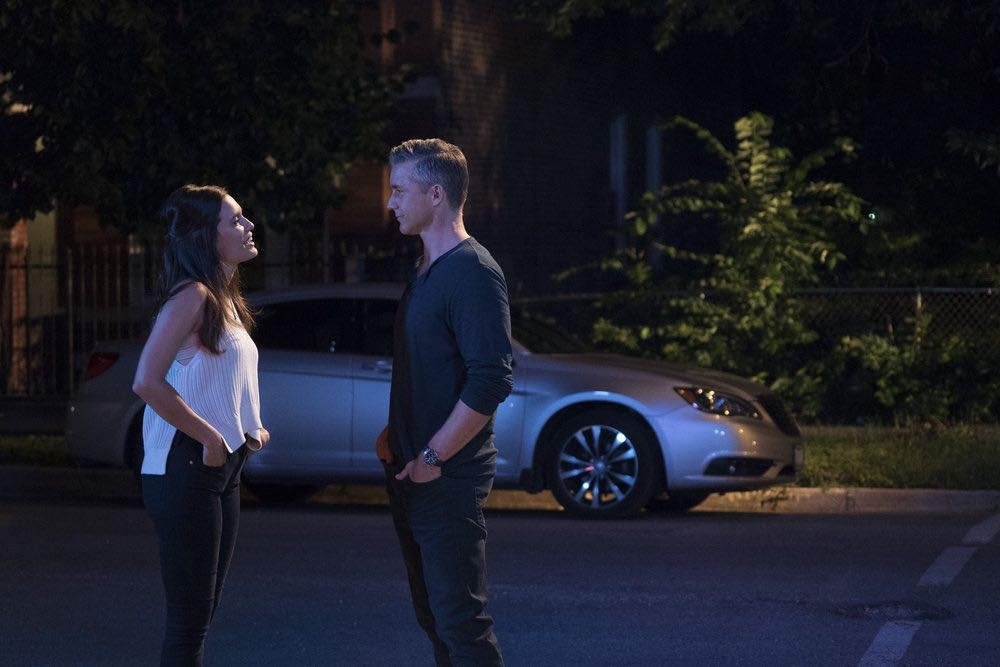 "CHICAGO MED -- ""Soul Care"" Episode 201 -- Pictured: (l-r) Torrey DeVitto as Natalie Manning, Jeff Hephner as Jeff Clarke -- (Photo by: Elizabeth Sisson/NBC)"