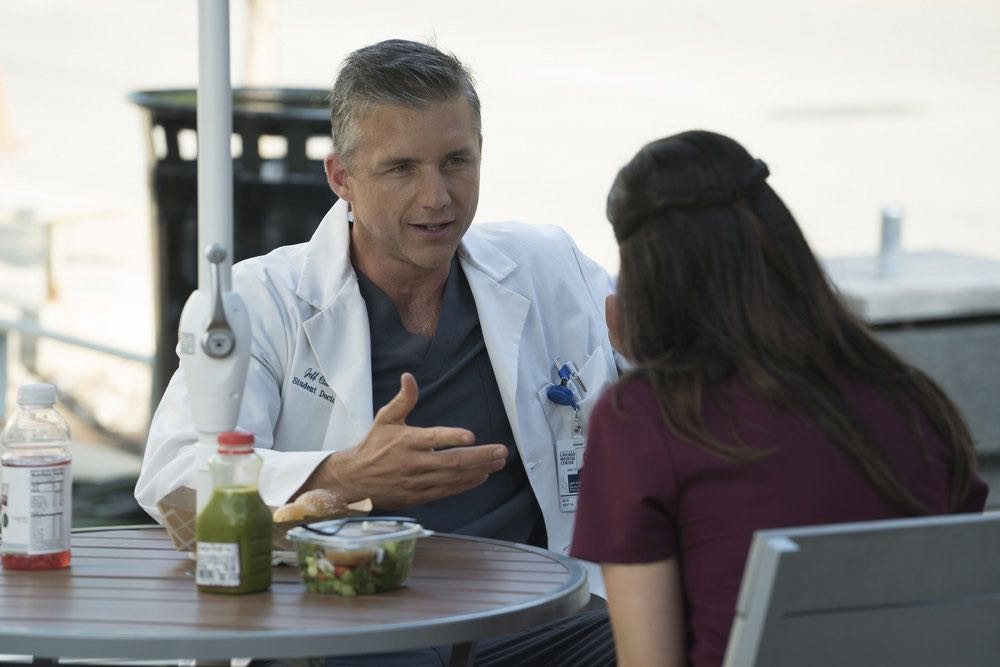 """CHICAGO MED -- """"Soul Care"""" Episode 201 -- Pictured: Jeff Hephner as Jeff Clarke -- (Photo by: Elizabeth Sisson/NBC)"""