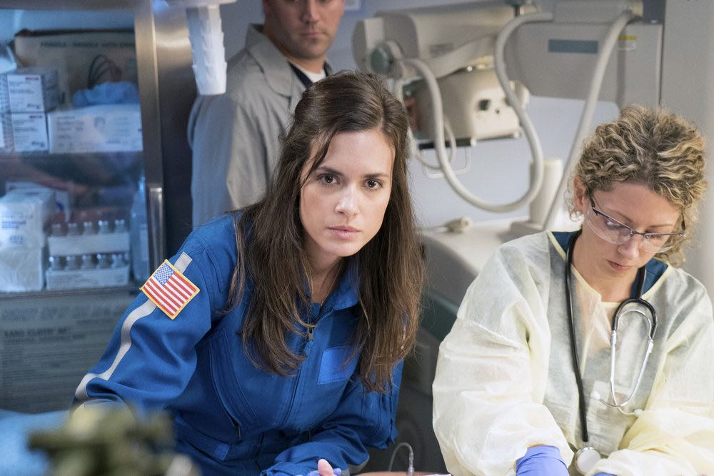 """CHICAGO MED -- """"Soul Care"""" Episode 201 -- Pictured: Torrey DeVitto as Natalie Manning -- (Photo by: Elizabeth Sisson/NBC)"""