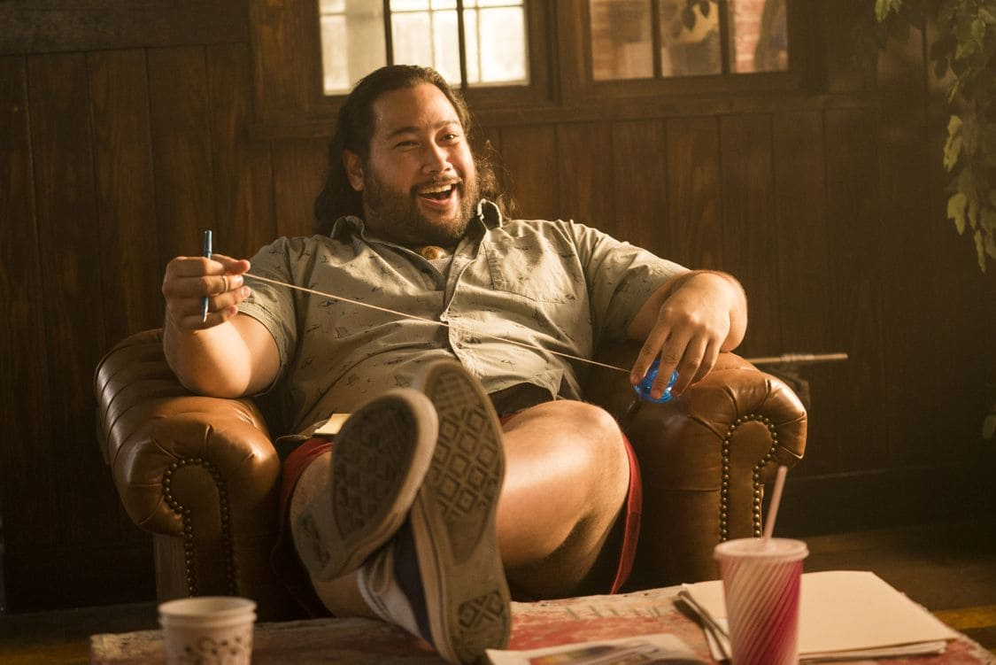 Cooper Andrews as Yo-Yo - Halt and Catch Fire _ Season 3, Episode 5  - Photo Credit: Tina Rowden/AMC