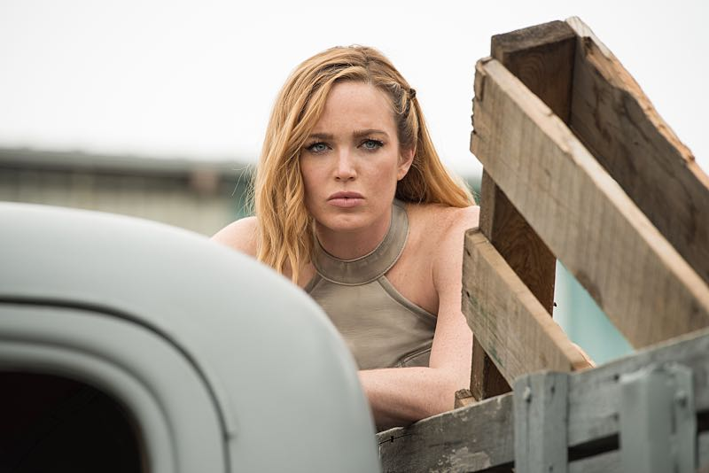 """DC's Legends of Tomorrow --""""Out Of Time"""" -- Image LGN201A_0030.jpg Pictured: Caity Lotz as Sara Lance/White Canary -- Photo: Diyah Pera/The CW -- © 2016 The CW Network, LLC. All Rights Reserved."""