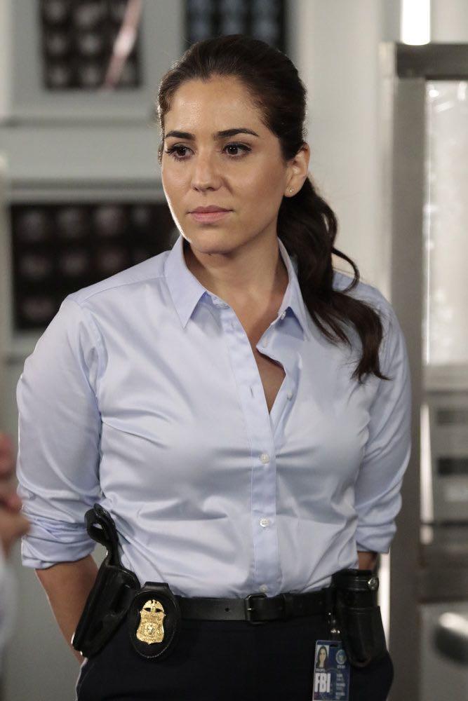 BLINDSPOT -- Episode 201-- Pictured: Audrey Esparza as Tasha Zapata -- (Photo by: Giovanni Ruffino/NBC)