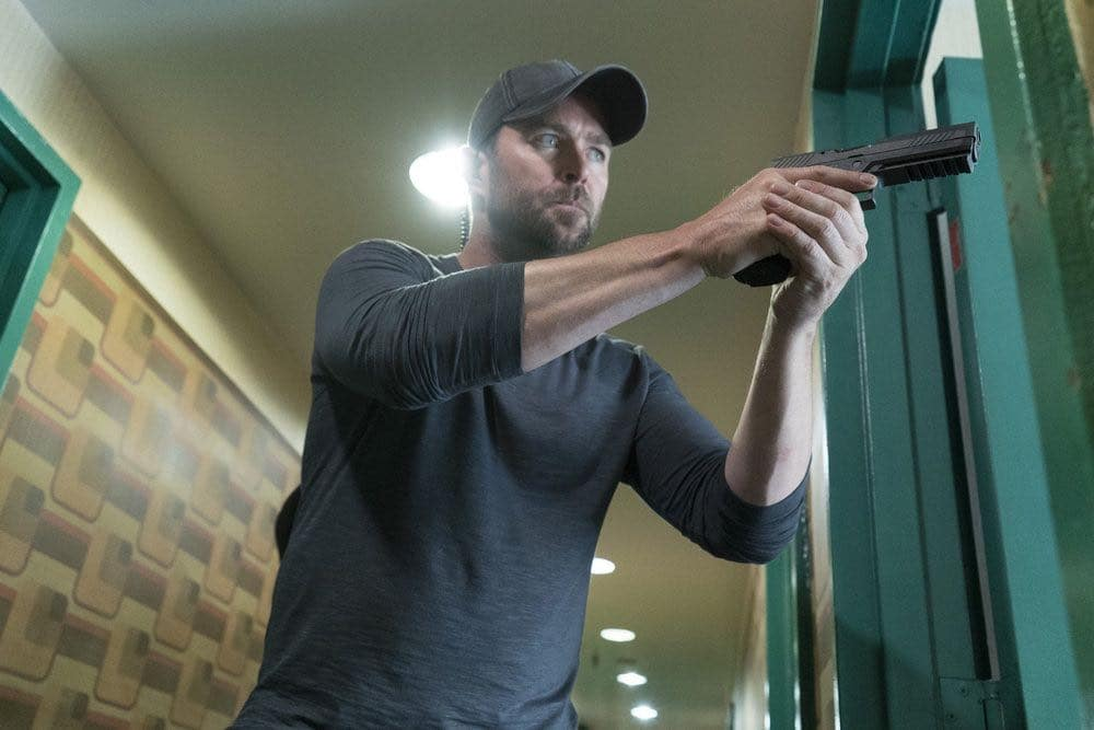 BLINDSPOT -- Episode 201-- Pictured: Sullivan Stapleton as Kurt Weller -- (Photo by: Virginia Sherwood/NBC)