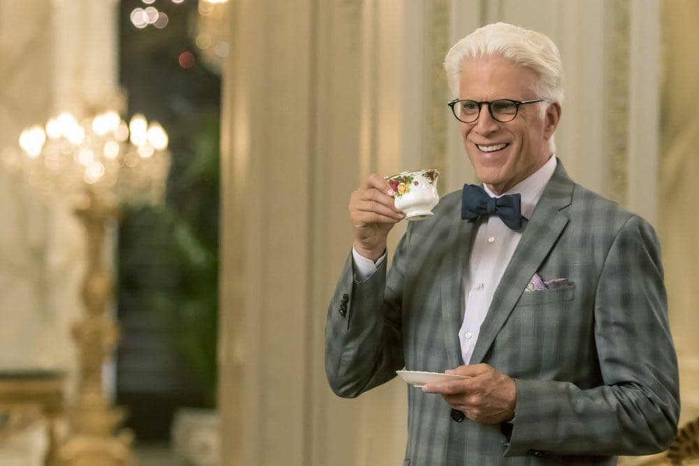 "THE GOOD PLACE -- ""...Someone Like Me as a Member"" -- Pictured: Ted Danson as Michael -- (Photo by: Ron Batzdorff/NBC)"