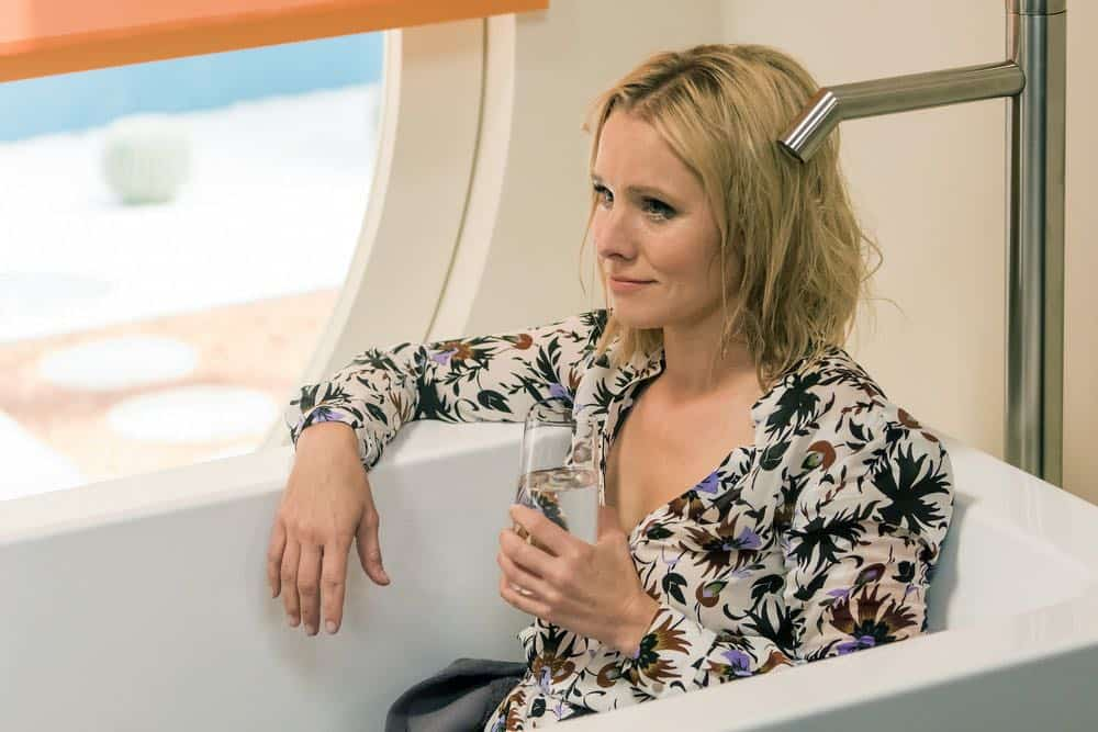 "THE GOOD PLACE -- ""...Someone Like Me as a Member"" -- Pictured: Kristen Bell as Eleanor -- (Photo by: Ron Batzdorff/NBC)"