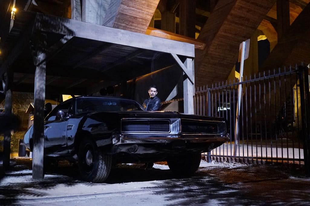 """MARVEL'S AGENTS OF S.H.I.E.L.D. - """"The Good Samaritan"""" - Robbie's shocking story on how he became Ghost Rider is finally discovered as Coulson and his team's lives hang in the balance, on """"Marvel's Agents of S.H.I.E.L.D.,"""" TUESDAY, NOVEMBER 1 (10:00-11:00 p.m. EDT), on the ABC Television Network. (ABC/Jennifer Clasen) GABRIEL LUNA"""