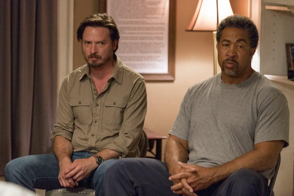 Aden Young as Daniel, John Marshall Jones as Pickle - Rectify _ Season 4, Episode 1 - Photo Credit: Jackson Lee Davis/Sundance