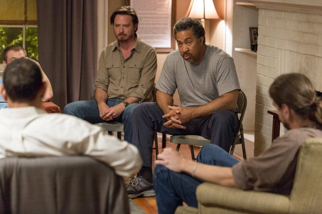 Charles Halford as Nate, Scott Lawrence as Avery, Aden Young as Daniel, John Marshall Jones as Pickle - Rectify _ Season 4, Episode 1 - Photo Credit: Jackson Lee Davis/Sundance