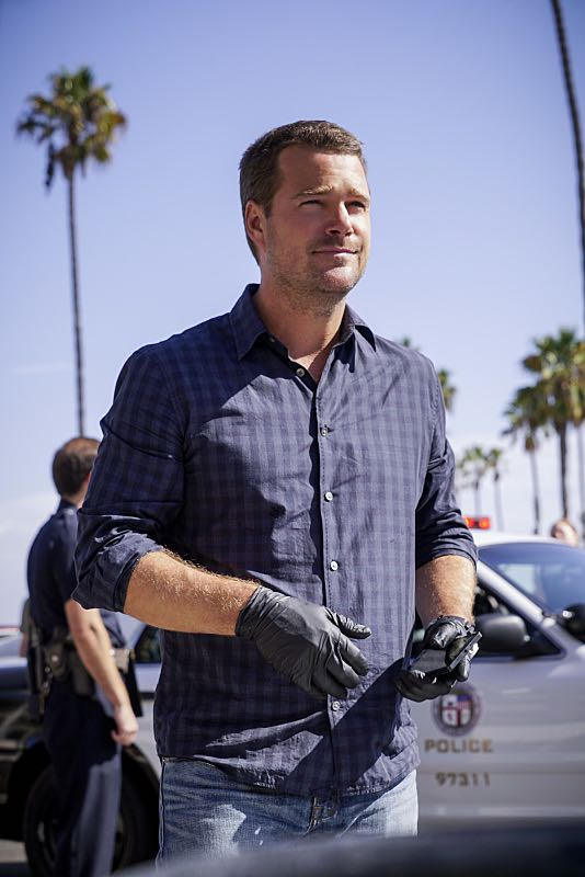 """Crazy Train"" -- Pictured: Chris O'Donnell (Special Agent G. Callen). Callen goes undercover as a patient in a mental health hospital to search for an NSA agent who disappeared while tracking an ISIS cell trying to cross the Mexican border, on NCIS: LOS ANGELES, Sunday, Nov. 6 (8:30-9:30 PM, ET/8:00-9:00 PM,PT), on the CBS Television Network. Photo: Robert Voets/CBS ©2016 CBS Broadcasting, Inc. All Rights Reserved"