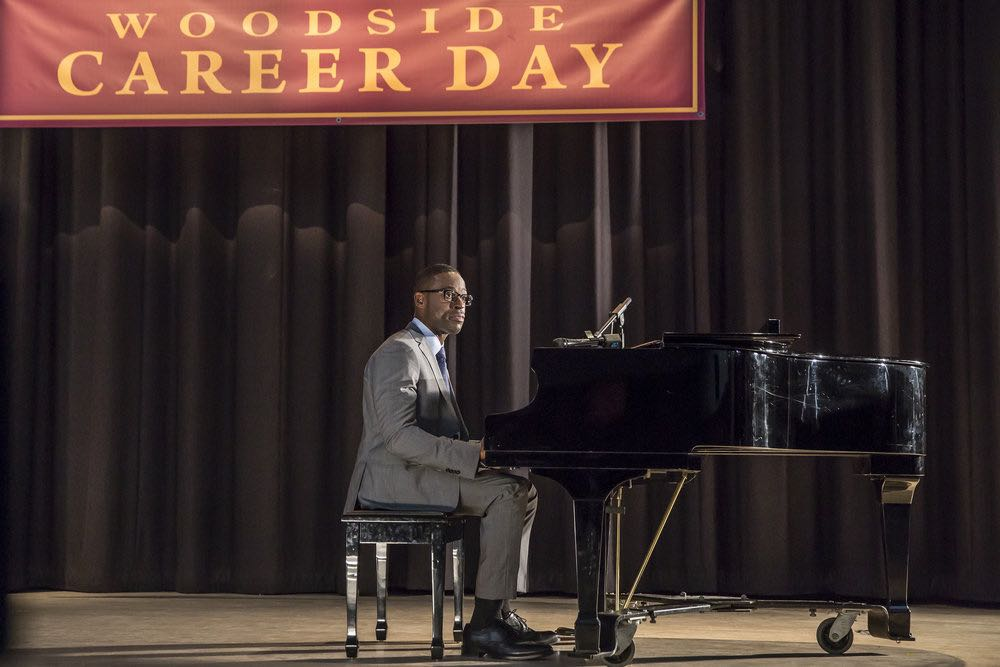 "THIS IS US -- ""Career Days"" Episode 106 -- Pictured: Sterling K Brown as Randall -- (Photo by: Ron Batzdorff/NBC)"