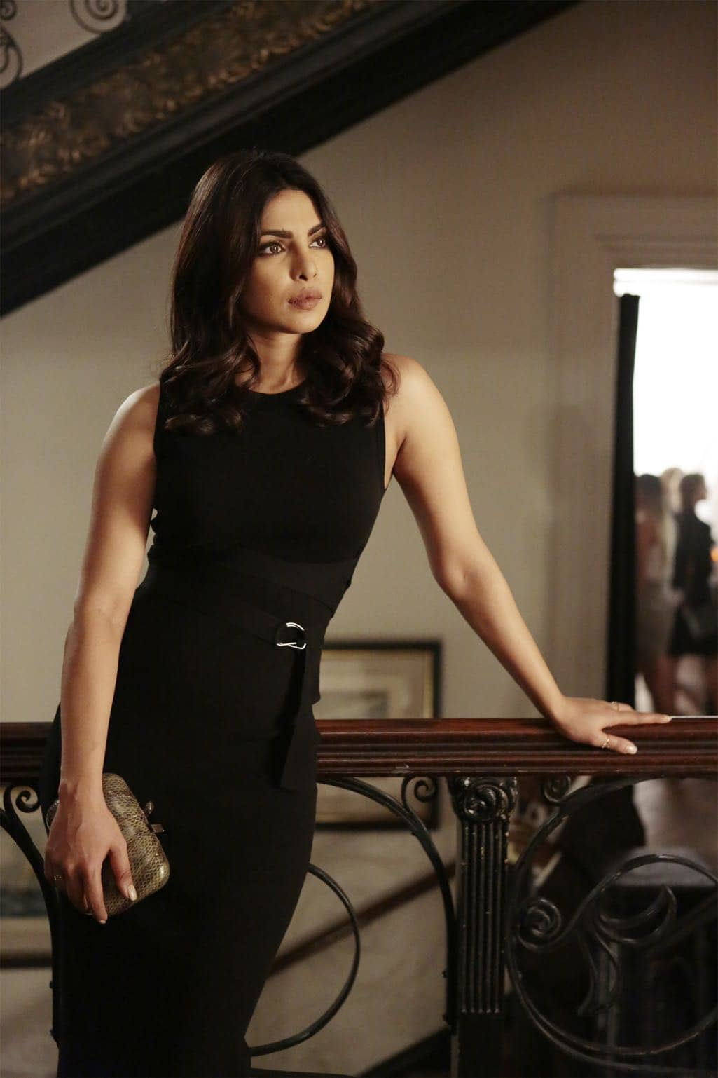 "QUANTICO - ""KMFORGET"" - At the Farm, Harry is still suspicious of Alex and Ryan, and he's determined to learn more about their plan, while Leon is recruited for a special assignment by Owen. Meanwhile, in the future, Alex continues to run from the terrorists but faces her toughest challenge yet when the terrorists corner her on ""Quantico,"" airing SUNDAY, OCTOBER 30 (10:00-11:00 p.m. EDT), on the ABC Television Network. (ABC/Giovanni Rufino) PRIYANKA CHOPRA"