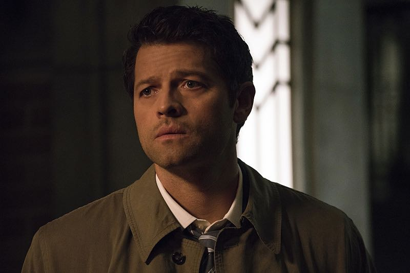 "Supernatural -- ""The Foundry"" -- SN1203b_0019.jpg -- Pictured: Misha Collins as Castiel -- Photo: Katie Yu/The CW -- © 2016 The CW Network, LLC. All Rights Reserved"