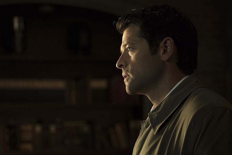 "Supernatural -- ""The Foundry"" -- SN1203b_0048.jpg -- Pictured: Misha Collins as Castiel -- Photo: Katie Yu/The CW -- © 2016 The CW Network, LLC. All Rights Reserve"