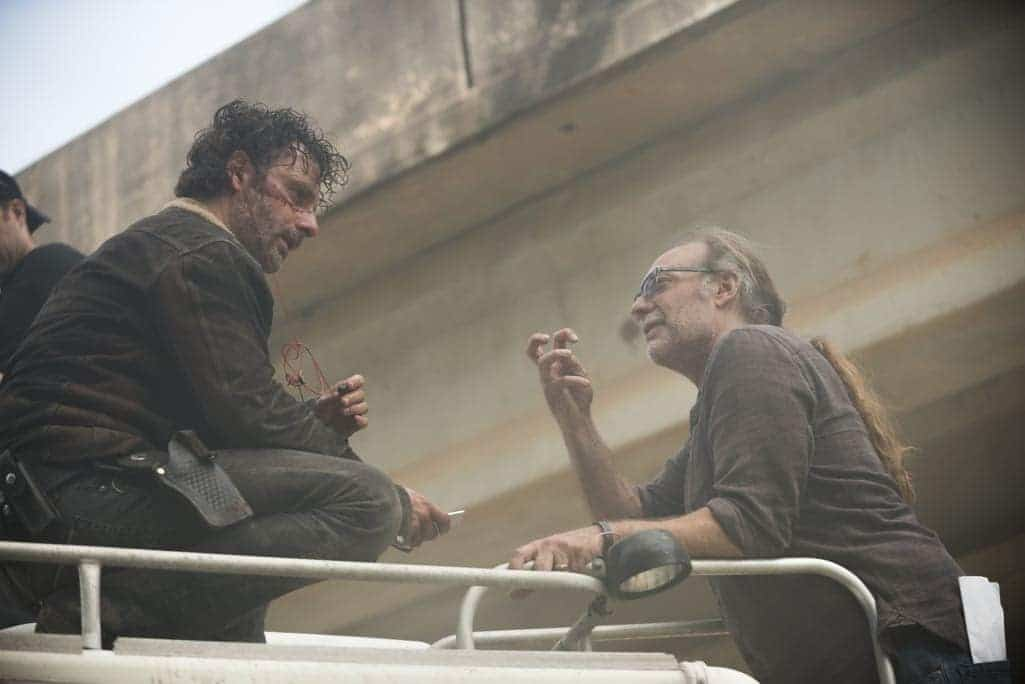 THE WALKING DEAD Season 7 Episode 1 Behind The Scenes Photos The Day Will Come When You Wont Be 2