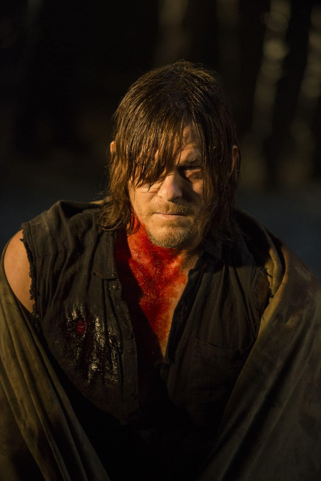 >>> NOT TO BE USED UNTIL 10/24/16 at 1:00 AM EST <<< Norman Reedus as Daryl Dixon - The Walking Dead _ Season 7, Episode 1 - Photo Credit: Gene Page/AMC