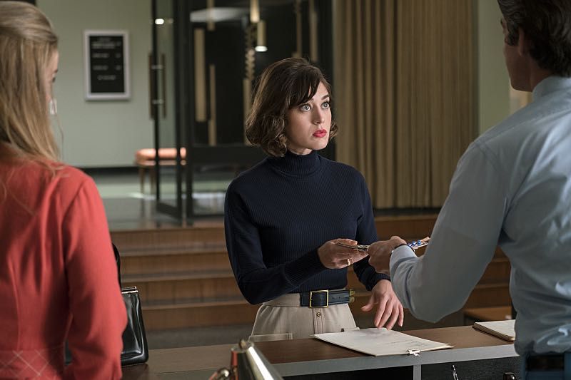 Lizzy Caplan as Virginia Johnson in Masters of Sex (season 4, episode 8) - Photo: Warren Feldman/SHOWTIME - Photo ID: MastersofSex_408_0390