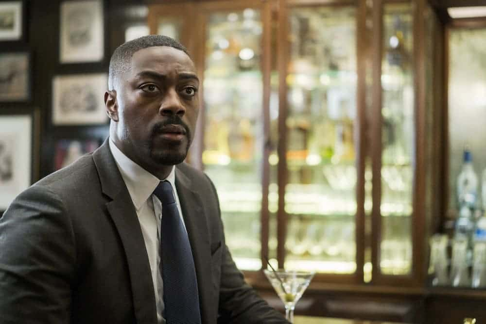"FALLING WATER -- ""Monsters, Most Familiar"" Episode 103 -- Pictured: David Ajala as Burton -- (Photo by: Michael Parmalee/USA Network)"