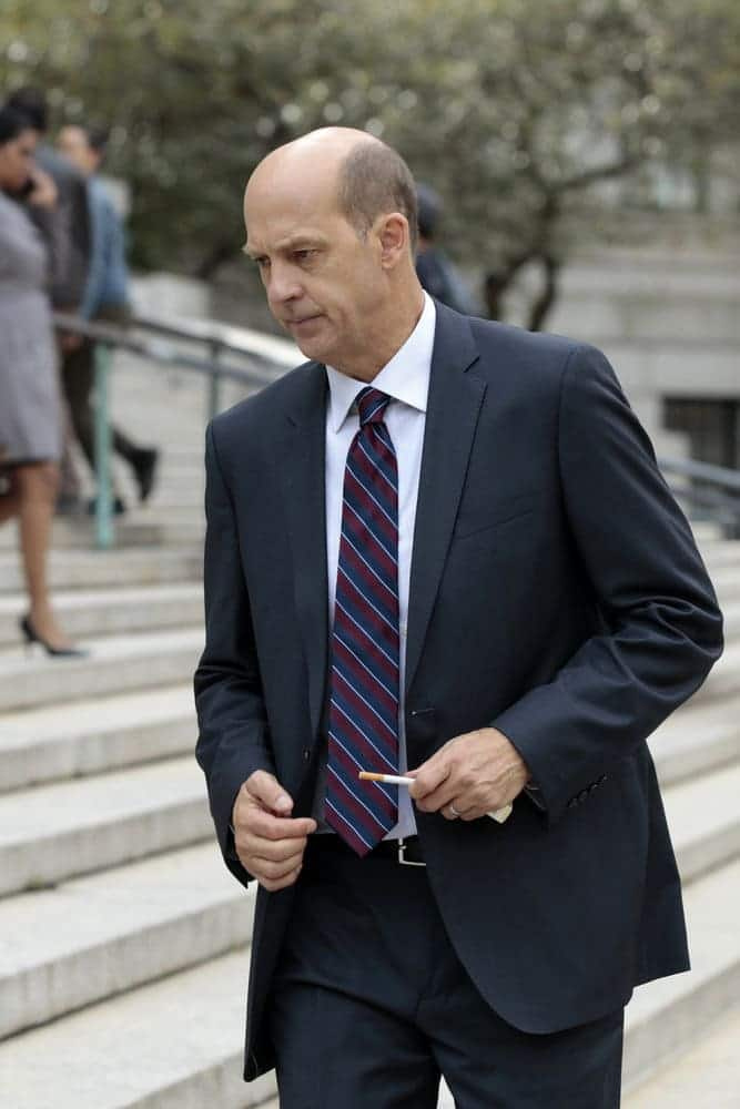 """LAW & ORDER: SPECIAL VICTIMS UNIT -- """"Rape Interrupted"""" Episode 1806 -- Pictured: Anthony Edwards as Sgt. John Griffin -- (Photo by: Michael Parmelee/NBC)"""