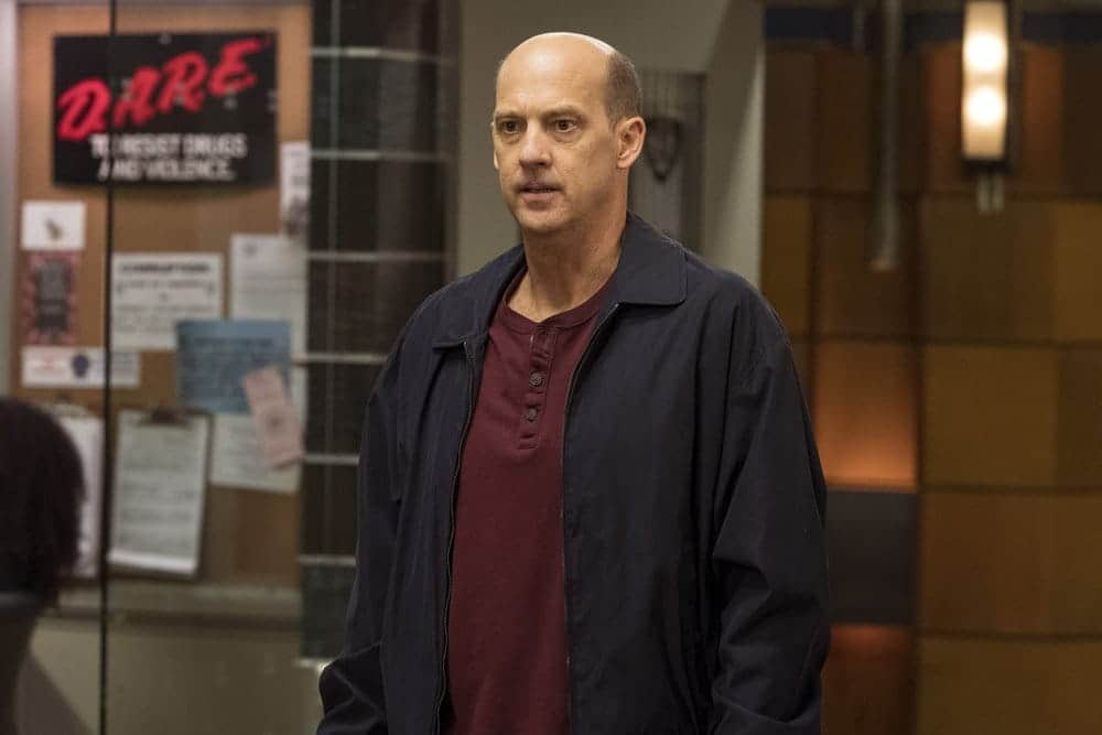 """LAW & ORDER: SPECIAL VICTIMS UNIT-- """"Rape Interrupted"""" Episode 1806 -- Pictured: Anthony Edwards as Sgt. John Griffin -- (Photo by: David Giesbrecht/NBC)"""