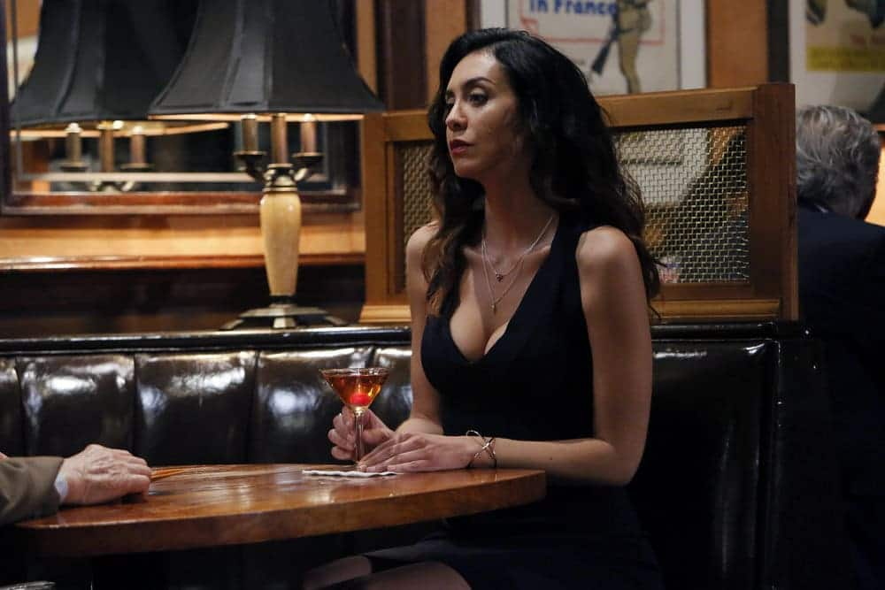 "THE BLACKLIST -- ""Dr. Jordan Shaw #98"" Episode 407 -- Pictured: Mozhan Marno as Samar Navabi -- (Photo by: Will Hart/NBC)"