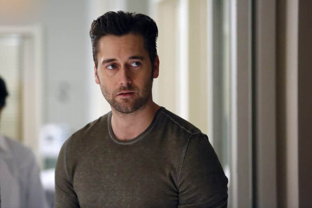 "THE BLACKLIST -- ""Dr. Jordan Shaw #98"" Episode 407 -- Pictured: Ryan Eggold as Tom Keen -- (Photo by: Will Hart/NBC)"