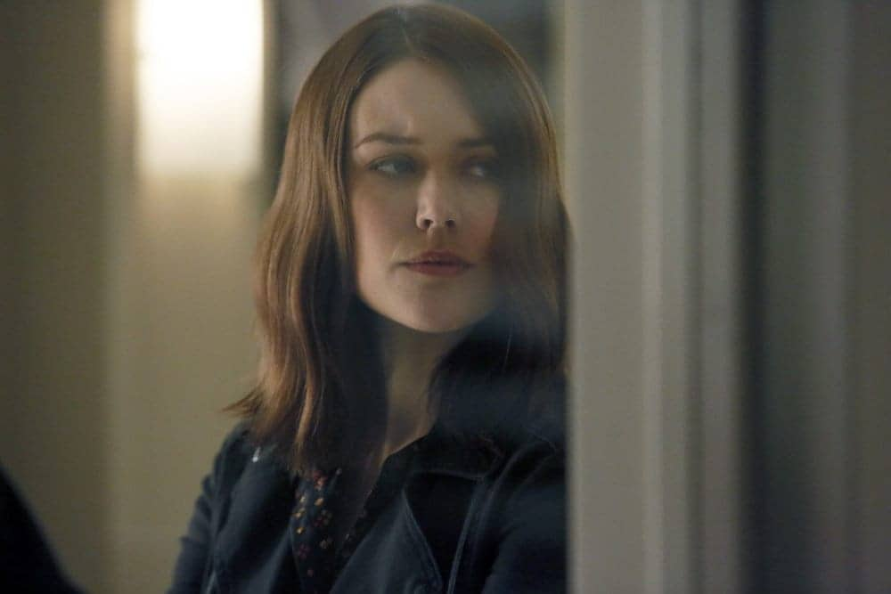"THE BLACKLIST -- ""Dr. Jordan Shaw #98"" Episode 407 -- Pictured: Megan Boone as Elizabeth Keen -- (Photo by: Will Hart/NBC)"