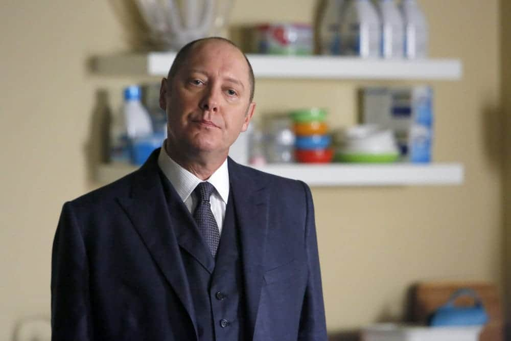 """THE BLACKLIST-- """"The Thrushes: #53"""" Episode 406 -- Pictured: James Spader as Raymond """"Red"""" Reddington -- (Photo by: Will Hart/NBC)"""